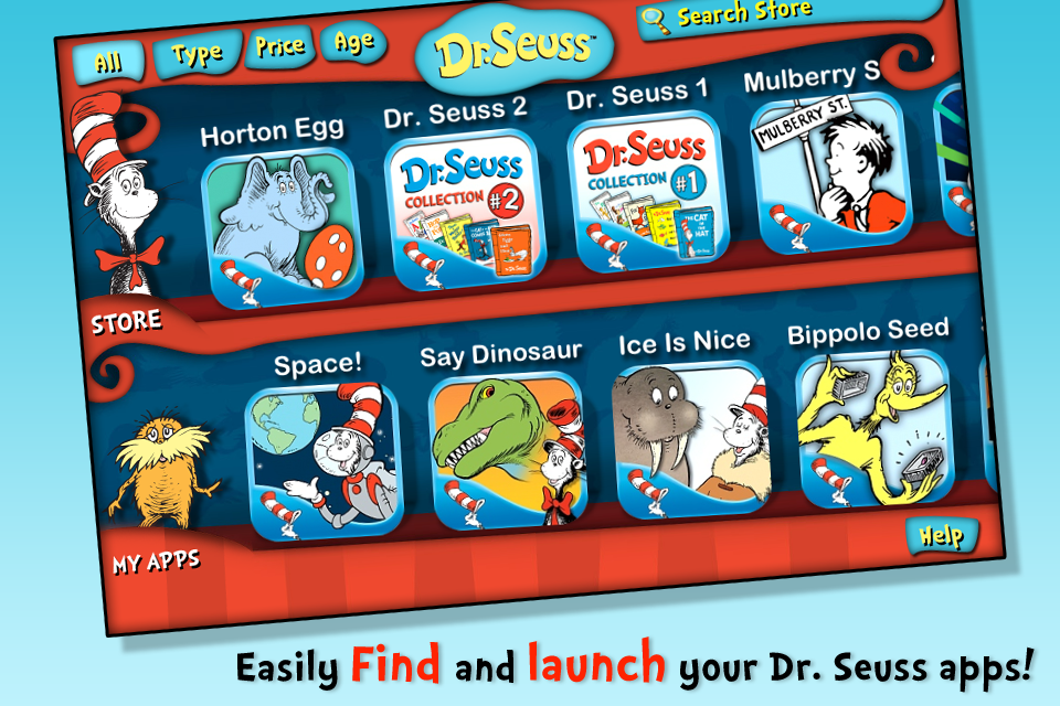 mzl.iozguixv Dr. Seuss from OceanHouse Media – App Review Roundup